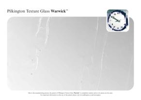 Warwick Glass Pattern