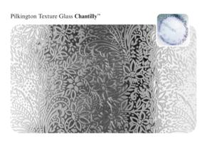 Chantilly Glass Pattern